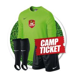 Paket 2: Trikot, Hose, Stutzen + Camp  159 EUR