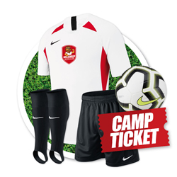 Paket 1: Trikot, Hose, Stutzen, Light Ball + Camp  179 EUR